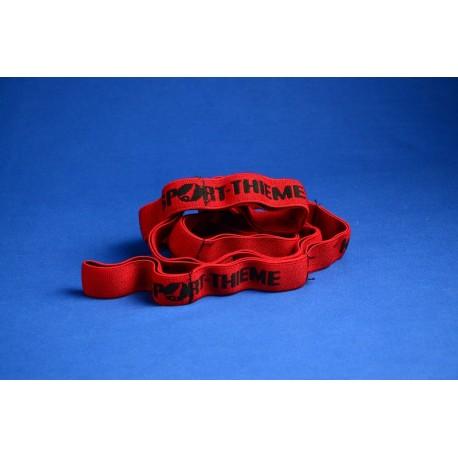 Sport-Thieme Elastisches Textilband 7kg/rot, 2er-Set